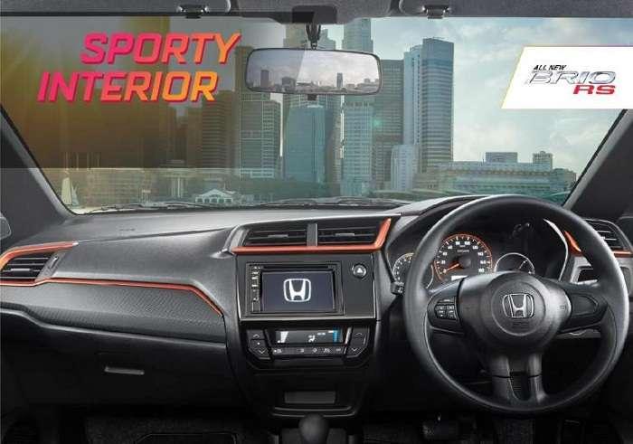 Interior New Honda Brio RS