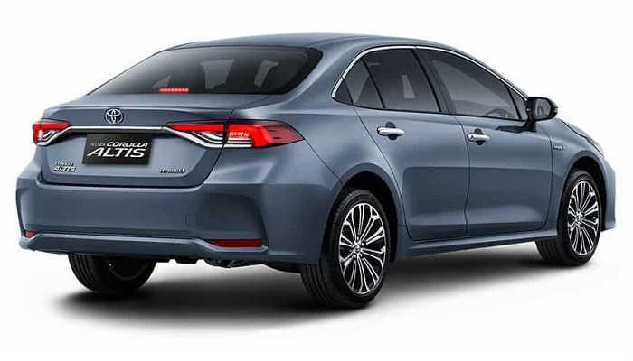 Dimensi New Toyota Corolla Altis