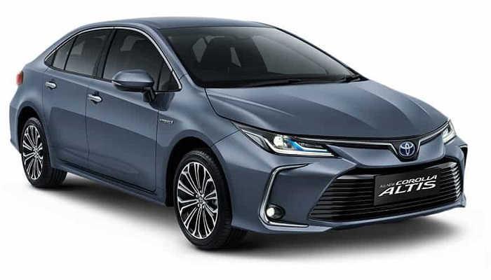 Exterior New Toyota Corolla Altis