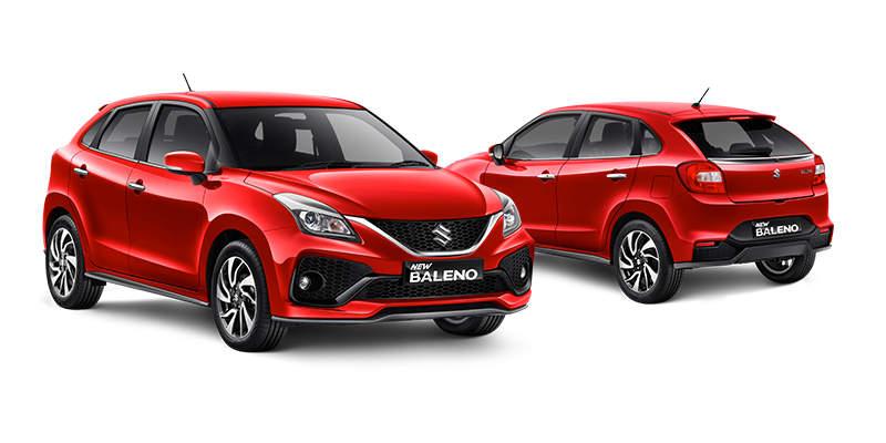 Exxterior Suzuki Baleno Hatchback