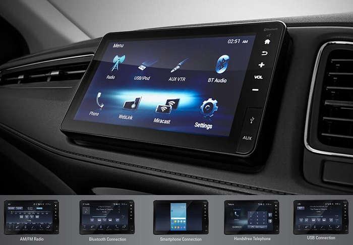 Fitur Entertainment Honda HR-V