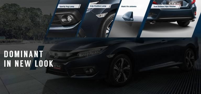 Fitur Exterior Honda Civic