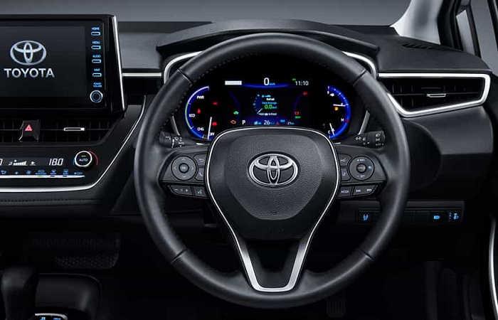 Interior New Toyota Corolla Altis