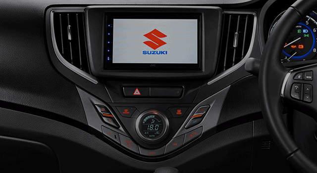 Fitur Suzuki Baleno Hatchback