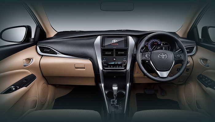 Interior Toyota New Vios