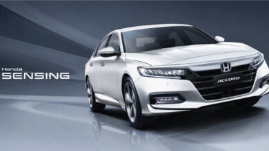 New Honda Accord Sensing