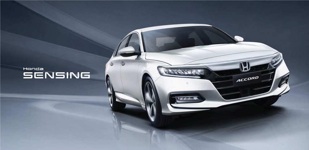 New Honda Accord Sensing