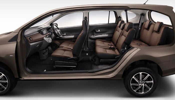 Interior New Daihatsu Sigra Facelift