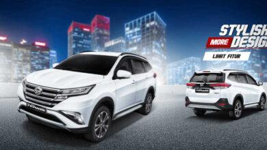 Spesifikasi All New Daihatsu Terios