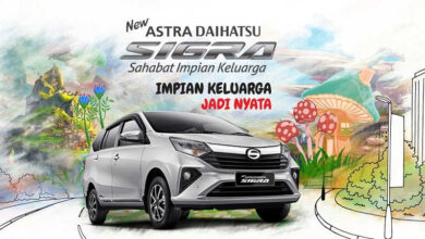 Spesifikasi New Daihatsu Sigra Facelift