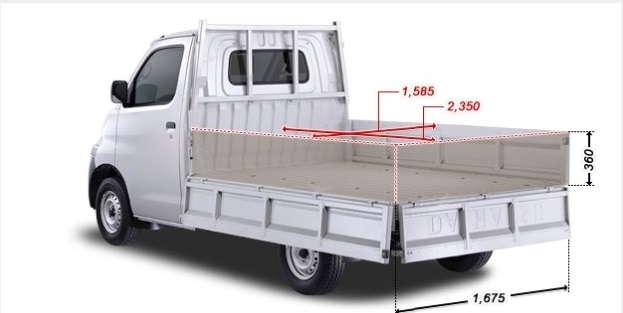 Dimensi Daihatsu Gran Max Pick Up