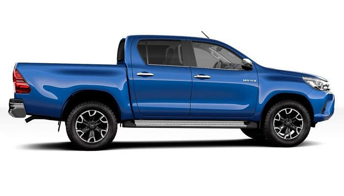 Dimensi Toyota Hilux