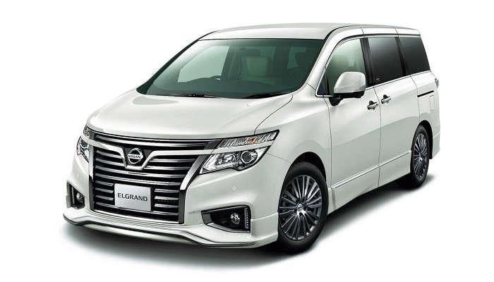 Exterior New Nissan Elgrand