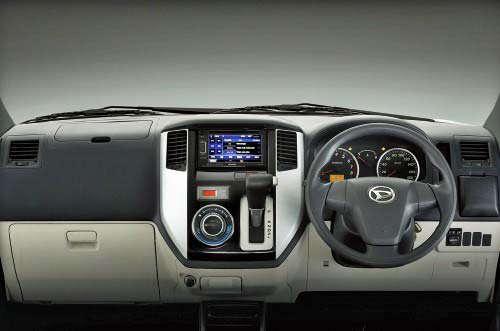Fitur Daihatsu New Luxio
