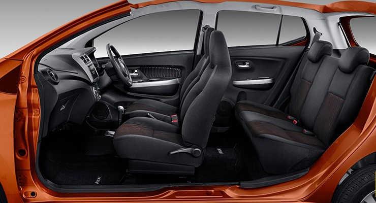 Interior Astra Daihatsu New Ayla 2020
