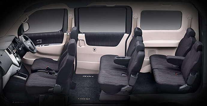 Interior Daihatsu New Luxio