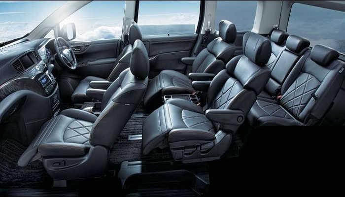 Interior New Nissan Elgrand