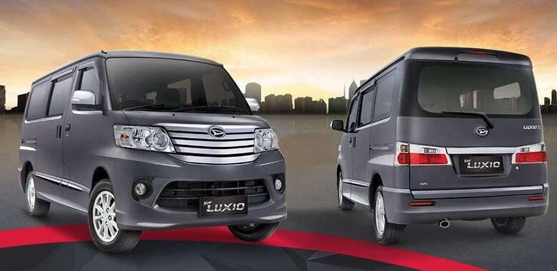 Spesifikasi Daihatsu New Luxio